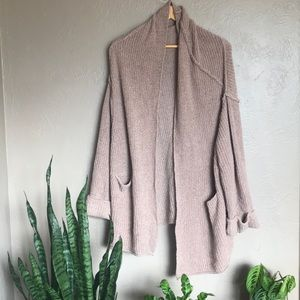 Slouchy knit cardigan by Free People